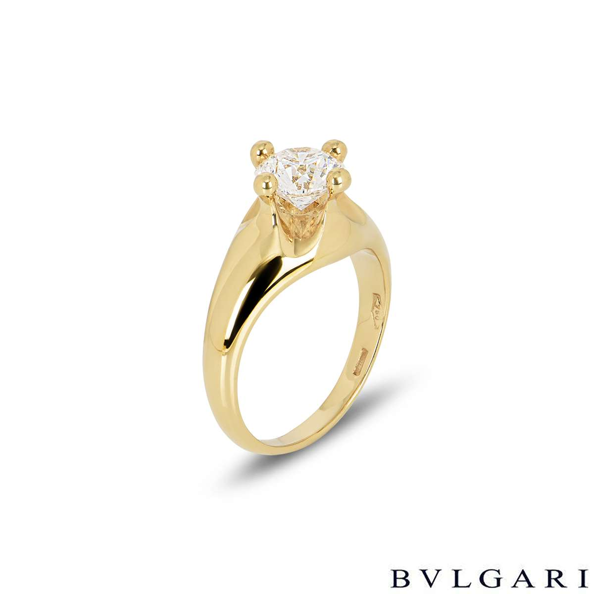 Bvlgari Corona Diamond Ring 1.00ct